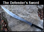 Handmade Defender's Short Sword. Picture - Link to more pictures, prices,and detailed descriptions.