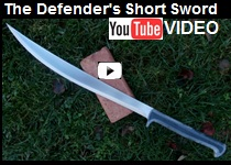 The defender s short sword made by scorpion swords amp knives from