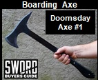 Doomsday Axe 1. Picture link to more pictures and order info