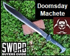 Doomsday Machete - Doomsday Line Sword 3. Picture link to more pictures and order info