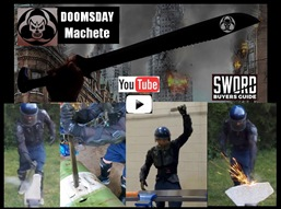Doomsday Machete Extreme Durability Test Review video