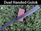 Dual Handed Golok link to more pictures and links to order.