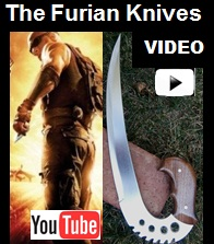 The Furian Knives Influenced by Chronicles of Riddick Youtube Video.