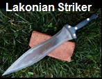 Handmade Lakonian Striker Sword Picture - Link to more pictures, prices,and detailed descriptions.