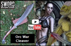 Orc War Cleaver Youtube Video Picture