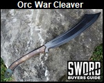 The Orc War Cleaver Picture link to more pictures and order info