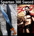 Handmade Spartan 300 Sword – Influenced from the Movie 300. Picture - Link to more pictures, prices,and detailed descriptions