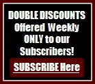 Subscribe to Scorpion Swords & Knives Weeky Ad for Higher Discounts