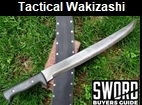 Tactical Wakizashi Picture link to more pictures and order info