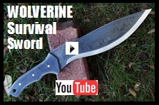 Wolverine Survival Sword Youtube Link picture