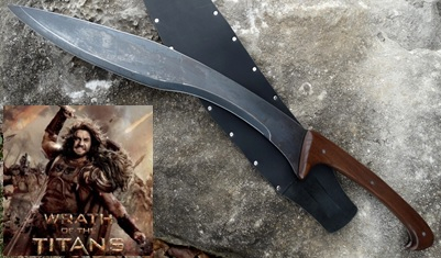 Wrath of Ares Falcata Sword Influenced from Wrath of the Titans pictrure link