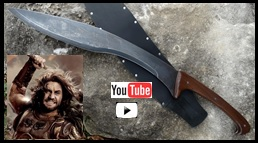 Wrath of Ares Falcata Sword from Wrath of the Titans youtube Video Link