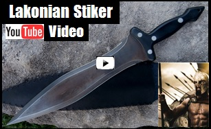 Lakonian Striker Sword Youtube Video picture link