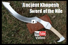 Khopesh Sword of The Nile Video Link